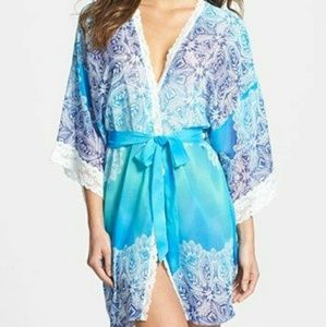 New In Bloom by Jonquil Sea Blue robe
